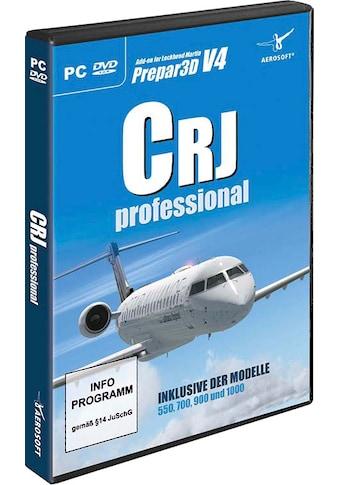 aerosoft Spiel »AddOn P3D CRJ Professional«, PC kaufen