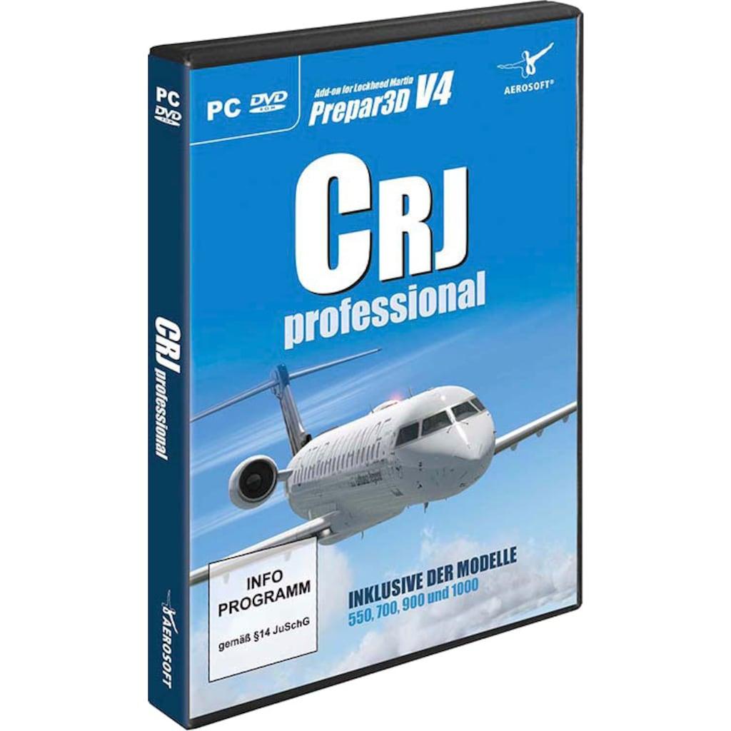 aerosoft Spiel »AddOn P3D CRJ Professional«, PC