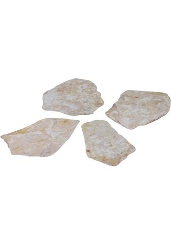 MySpotti Duscheinlage »Klebefliese stepon Natursteinwand«, (Set, 4 tlg.), antirutsch kaufen