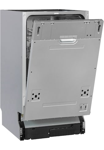 exquisit vollintegrierbarer Geschirrspüler »EGSP1009-E-030E silber«, EGSP1009-E-030E... kaufen
