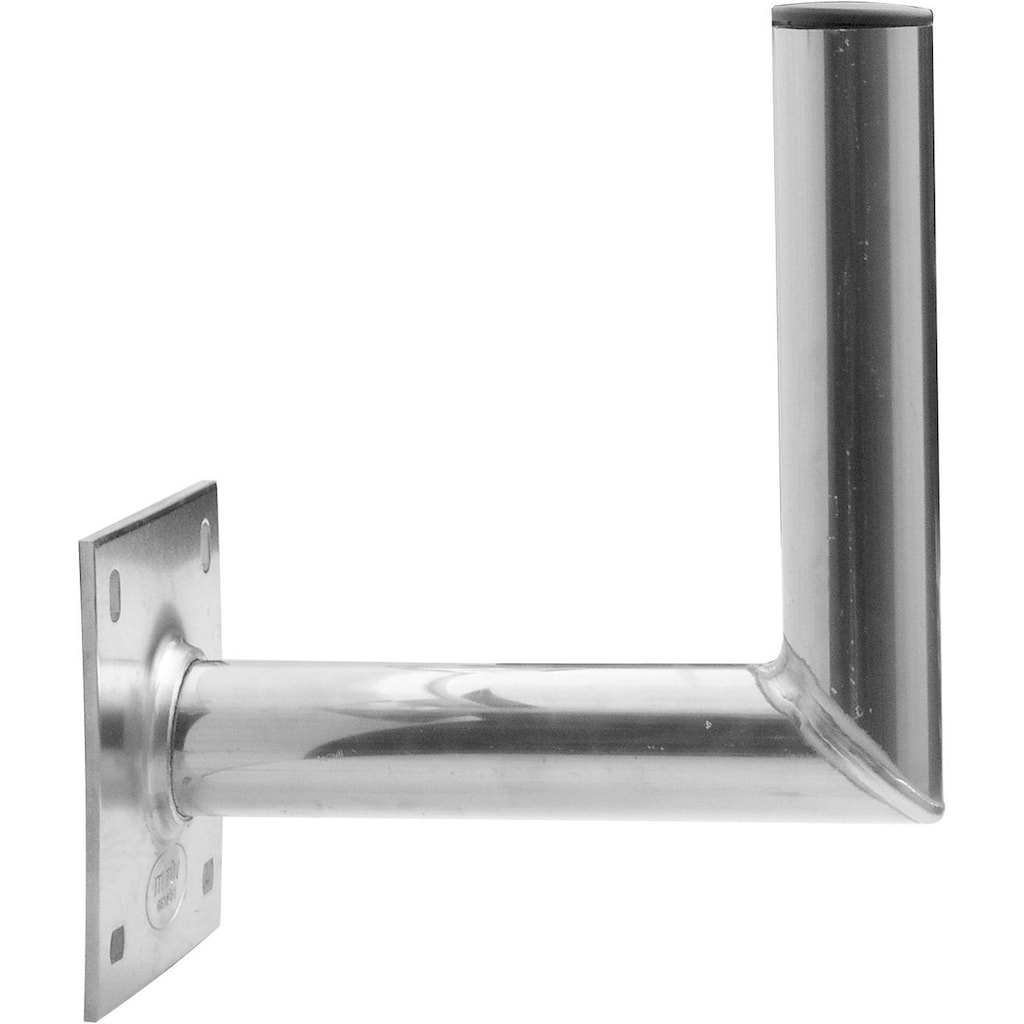Schwaiger Wandhalterung »25 cm Wandabstand«, für Satellitenschüsseln aus rostfreiem Aluminium