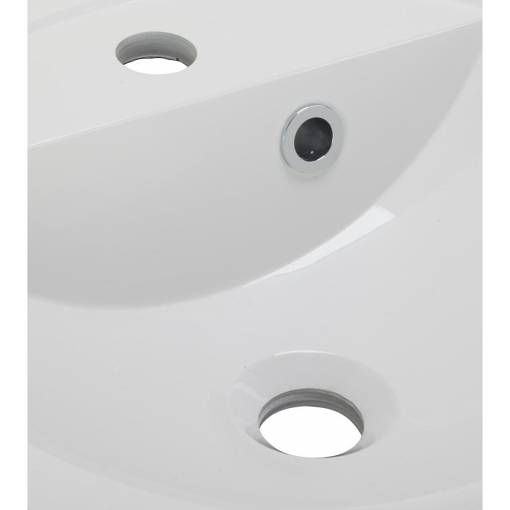OPTIFIT Waschtisch »Doha«, mit Soft-Close-Funktion, Aufsatzbecken rund, Breite 65 cm
