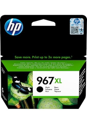 HP »hp 967XL Original Schwarz« Tintenpatrone (1 - tlg.) kaufen