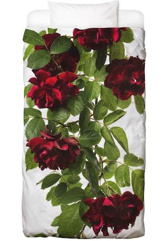Juniqe Bettwäsche »Flora - Rose«, In vielen weiteren Designs erhältlich kaufen