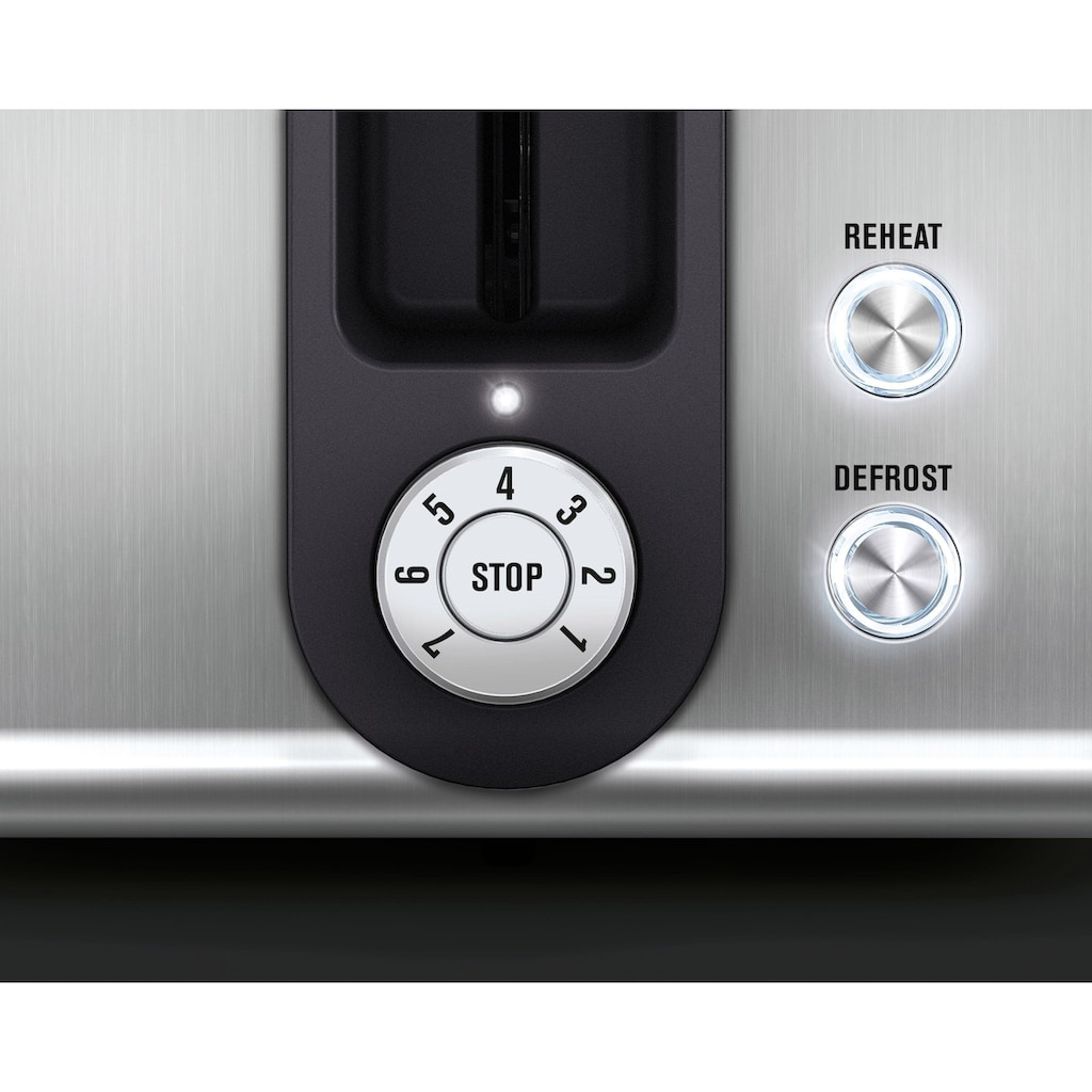 AEG Toaster »PremiumLine 7000Series AT 7750«, 2 kurze Schlitze, 850 W