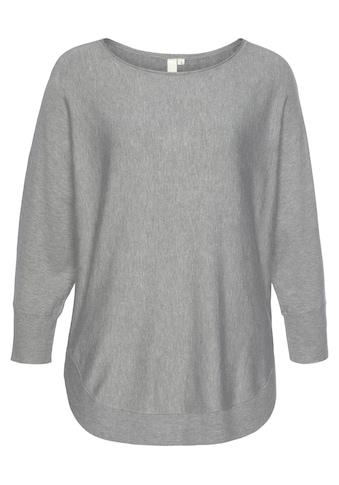 Q/S by s.Oliver 3/4 Arm-Pullover, mit Fledermausärmeln kaufen