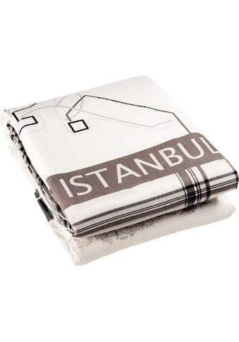 Goldmond Wohndecke »Istanbul«, im Städte Design kaufen