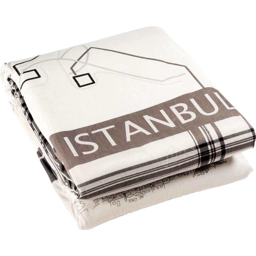 Goldmond Wohndecke »Istanbul«, im Städte Design
