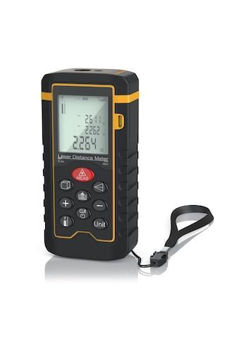 Brandson Laser Entfernungsmesser / bis zu 40m »Messung von Distanz, Flächen, Volumen« kaufen