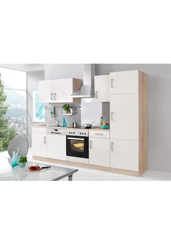 HELD MÖBEL Küchenzeile »Toronto«, mit E-Geräten, Breite 280 cm kaufen