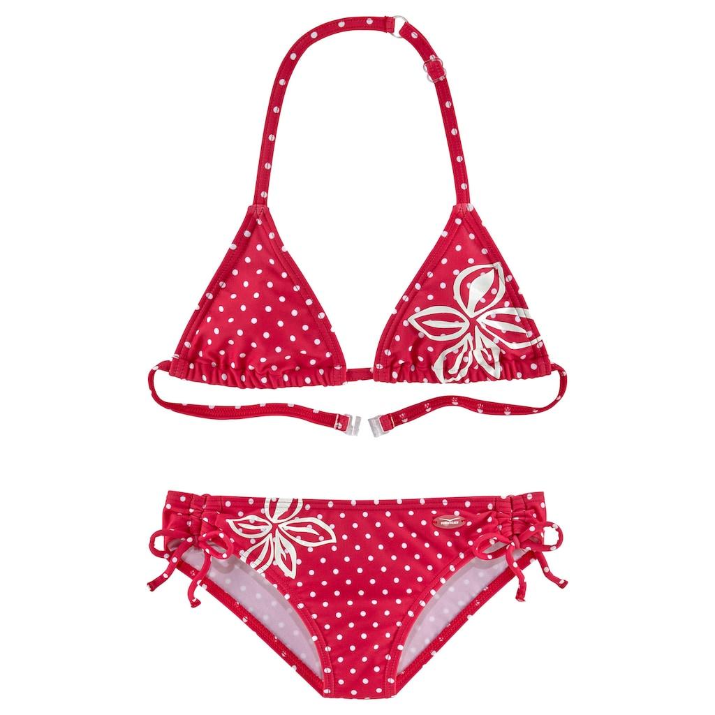 Venice Beach Triangel-Bikini, im modischen Punkte-Design
