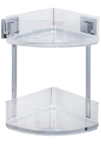 WENKO Eckregal »Vacuum-Loc Quadro«, 2 Etagen, Befestigen ohne bohren kaufen