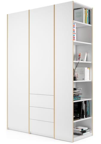 Müller SMALL LIVING Kleiderschrank »Modular Plus Variante 2«, inklusive 3 kleinen... kaufen