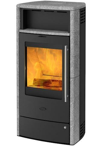 FIREPLACE Kaminofen »TORINO Speckstein«, Stahl, 6 kW, Dauerbrand, Automatik kaufen