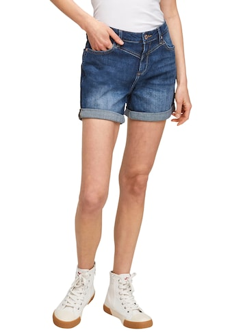 Q/S designed by Shorts »Abby«, mit coolen Detroyed Effekten und Umschlagsaum kaufen