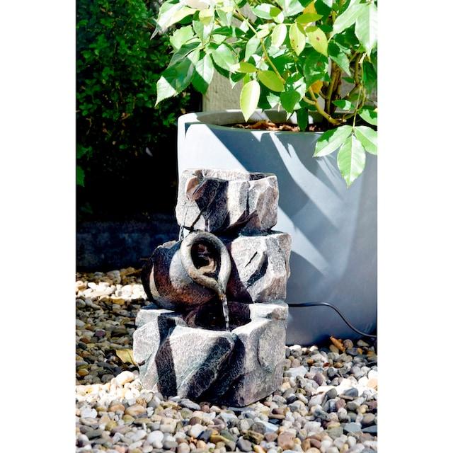 DOBAR Zimmerbrunnen BxTxH: 17,2x16,2x27 cm