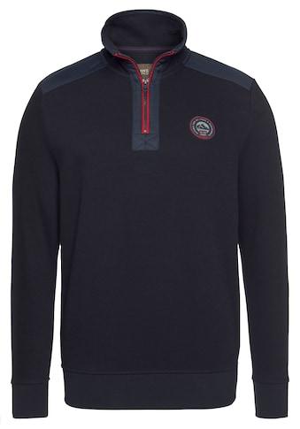 Man's World Sweatshirt, Mit Troyerkragen kaufen
