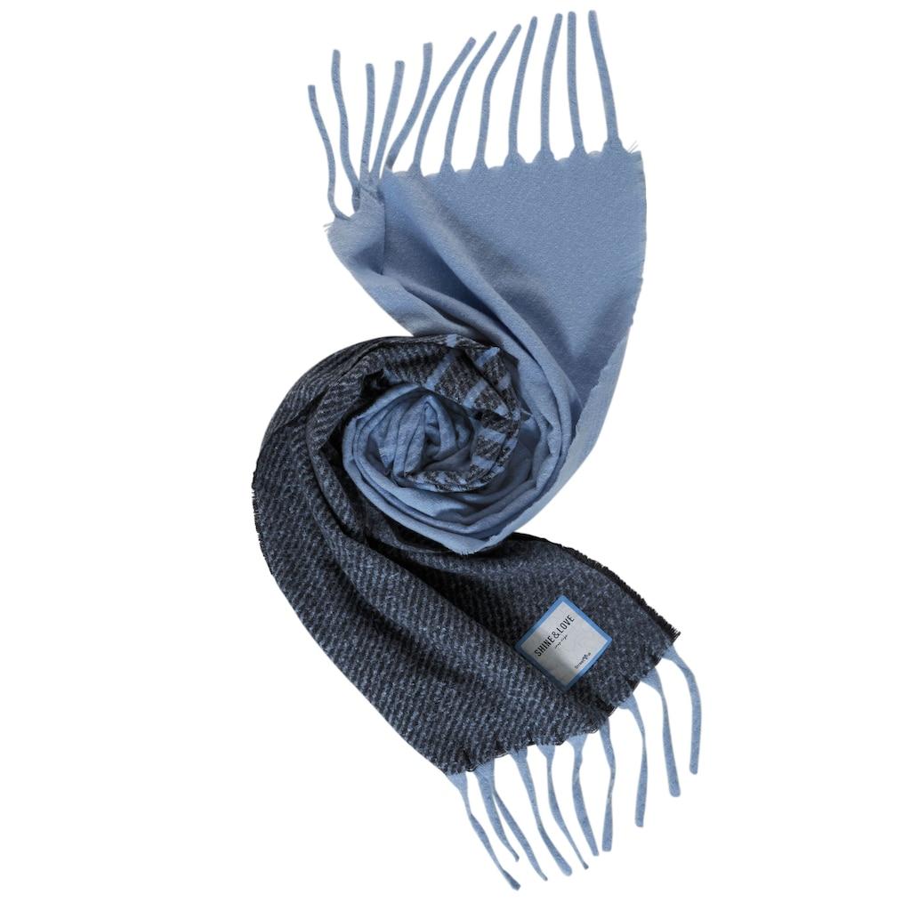 STREET ONE Modeschal, Langer Schal mit Farbverlauf