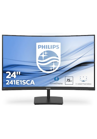 Philips 59,9 cm (23,6 Zoll) Curved Full HD Monitor »241E1SCA/00« kaufen
