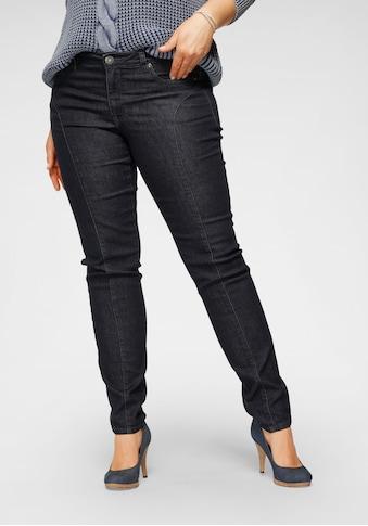 Arizona Slim-fit-Jeans, mit modischen Nahtverläufen auf der Front kaufen