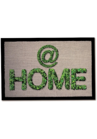 Andiamo Fußmatte »Home«, rechteckig, 5 mm Höhe, Schmutzfangmatte, mit Spruch, In- und... kaufen