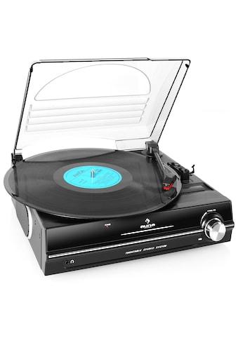 Auna Plattenspieler integrierte Lautsprecher 33 45 RPM Turntable kaufen