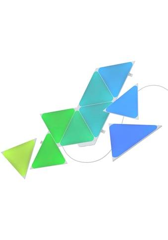 nanoleaf LED Panel »Nanoleaf Shapes Triangles Starter Kit - 9PK«, LED-Board, Farbwechsler kaufen