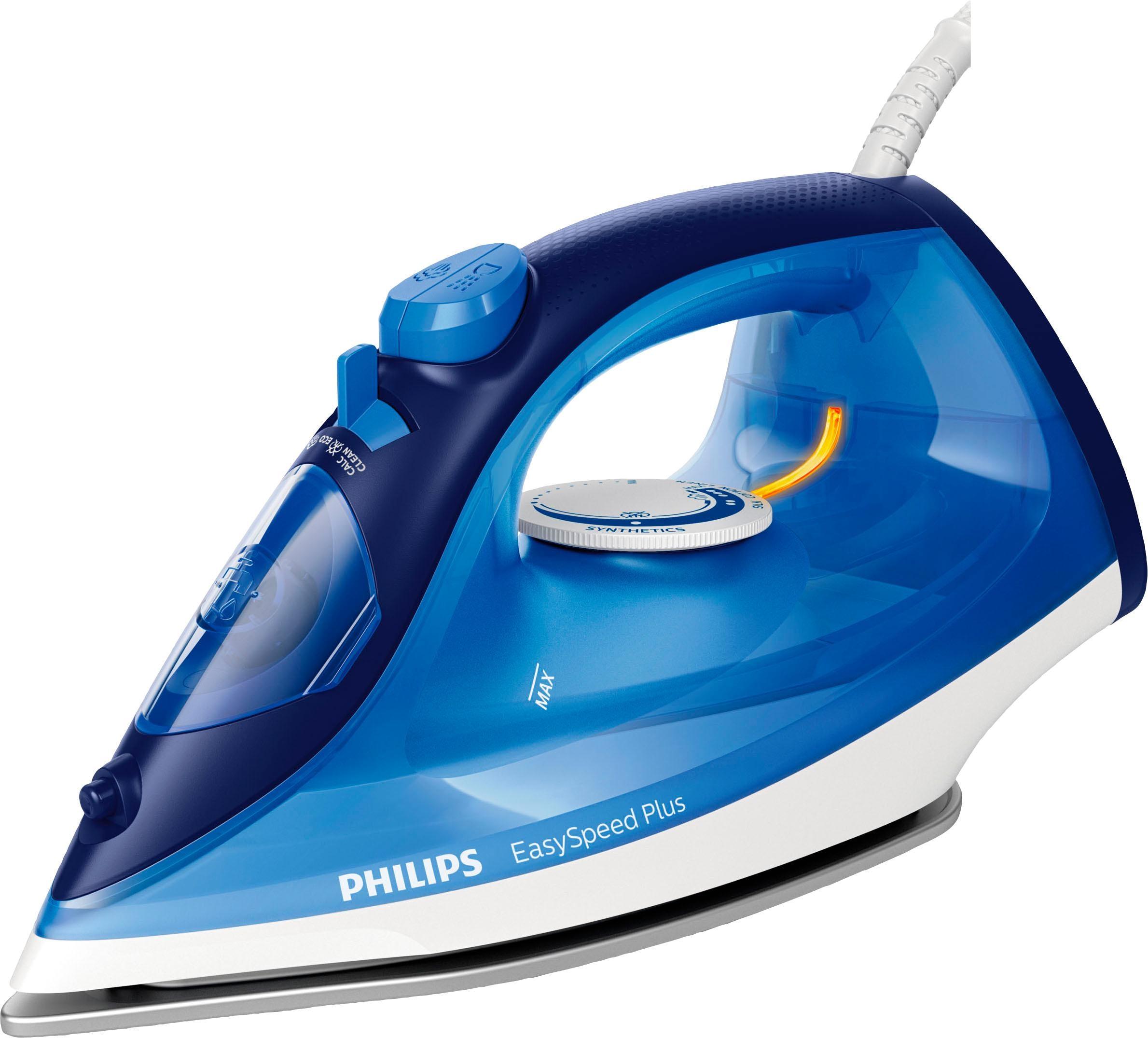 Philips Dampfbügeleisen EasySpeed Plus GC2145/20, 2100 Watt | Flur & Diele > Haushaltsgeräte > Bügeleisen | Philips