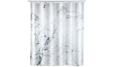 WENKO Duschvorhang »Onyx«, Breite 180 cm, Höhe 200 cm, Textil (Polyester) kaufen