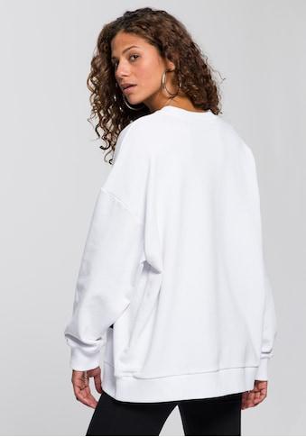 """Herrlicher Sweatshirt »CALIXTA«, mit """"LOVE"""" Statement Print kaufen"""