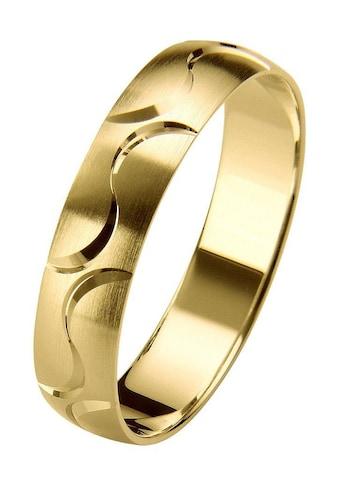 Firetti Trauring mit Gravur »seidenmatt, Diamantschnitt, in mehreren Breiten erhältlich« kaufen