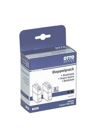 Otto Office Doppelpack Tintenpatrone ersetzt Canon »PGI - 5BK« kaufen
