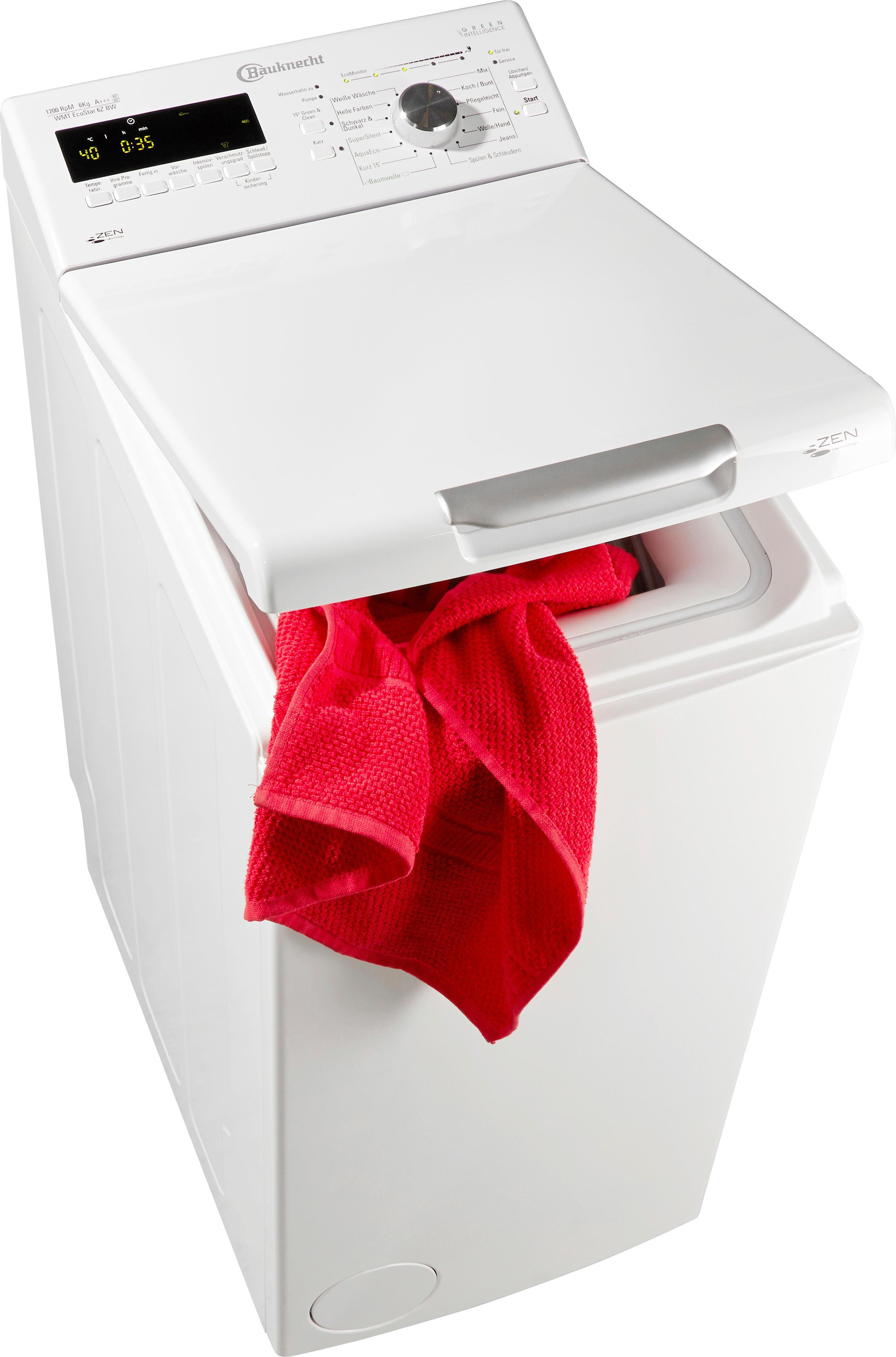 BAUKNECHT Waschmaschine Toplader WMT EcoStar 6Z BW | Bad > Waschmaschinen und Trockner > Toplader | Bauknecht