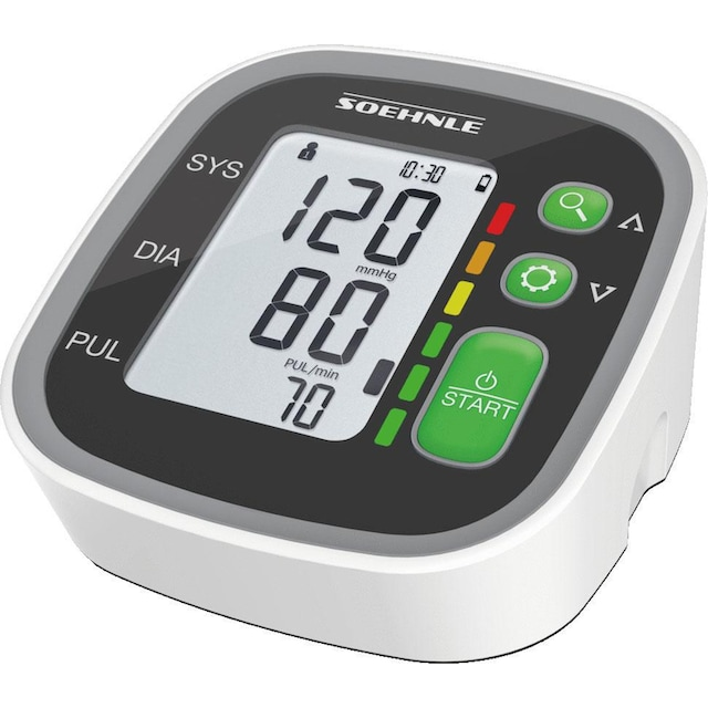 Soehnle Oberarm-Blutdruckmessgerät »Systo Monitor 300«, integrierter Bewegungssensor für korrekte Messergebnisse