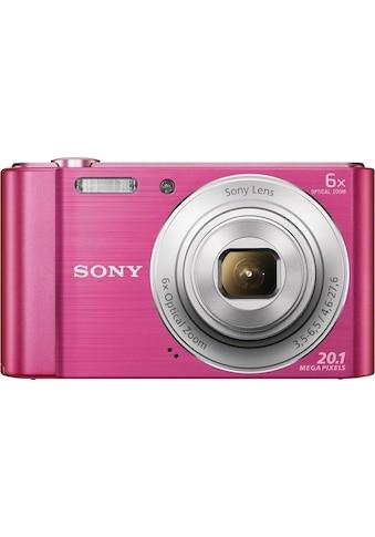 Sony »Cyber - shot DSC - W810« Kompaktkamera (20,1 MP, 6x opt. Zoom) kaufen
