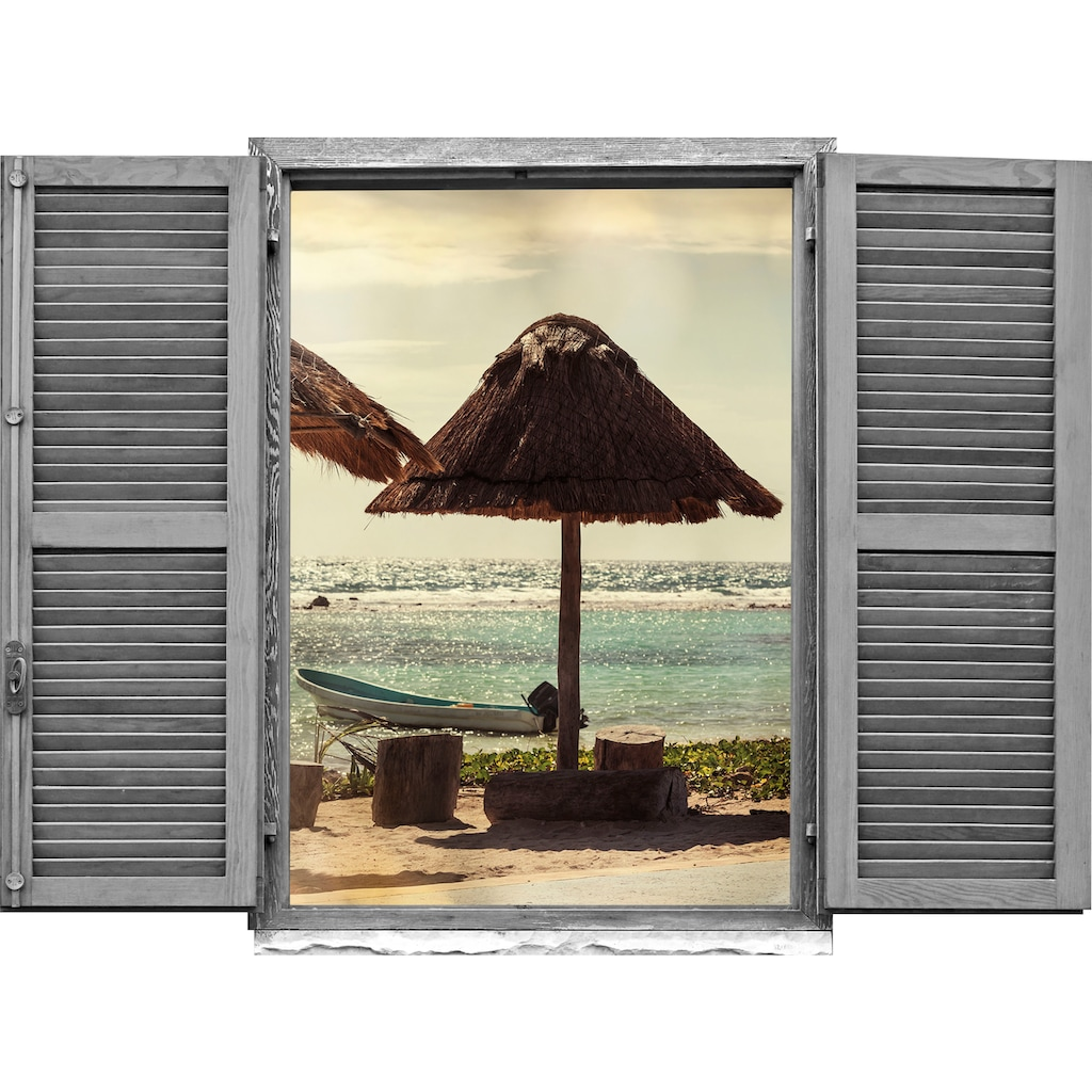 queence Wandtattoo »Palapa«