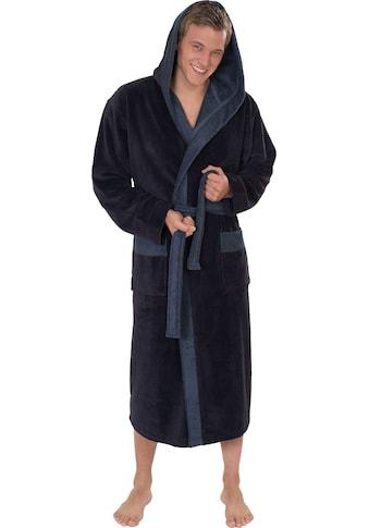 Wewo fashion Herrenbademantel »1023«, mit Soft-Touch kaufen