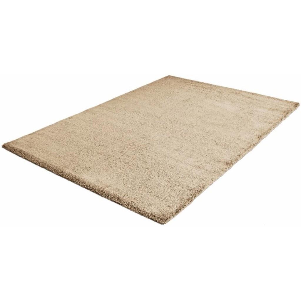 Sanat Hochflor-Teppich »Silky Touch«, rechteckig, 30 mm Höhe, Besonders weich durch Microfaser