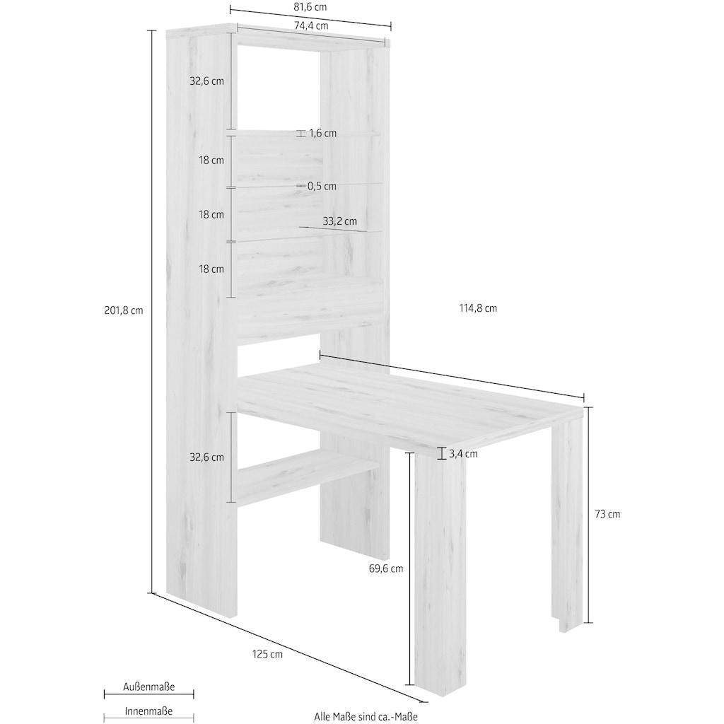 HMW Collection Regal-Schreibtisch »Eat & Sit«