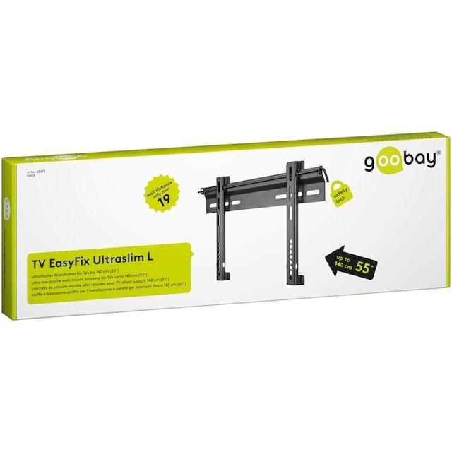 """Goobay TV Wandhalter L (passend für TVs von 58-140 cm (23-55"""") »TV EasyFix UltraSlim«"""