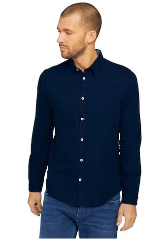 TOM TAILOR Langarmhemd, im Basic-Design kaufen
