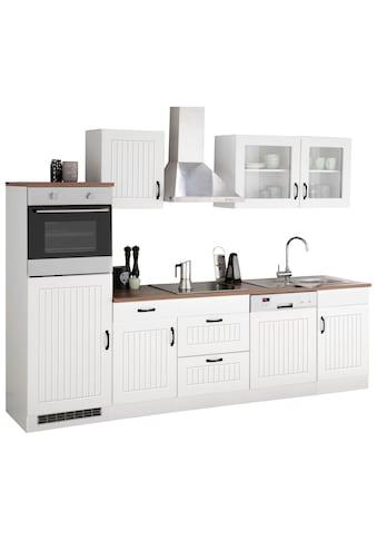 HELD MÖBEL Küchenzeile »Athen«, mit E - Geräten, Breite 280 cm kaufen