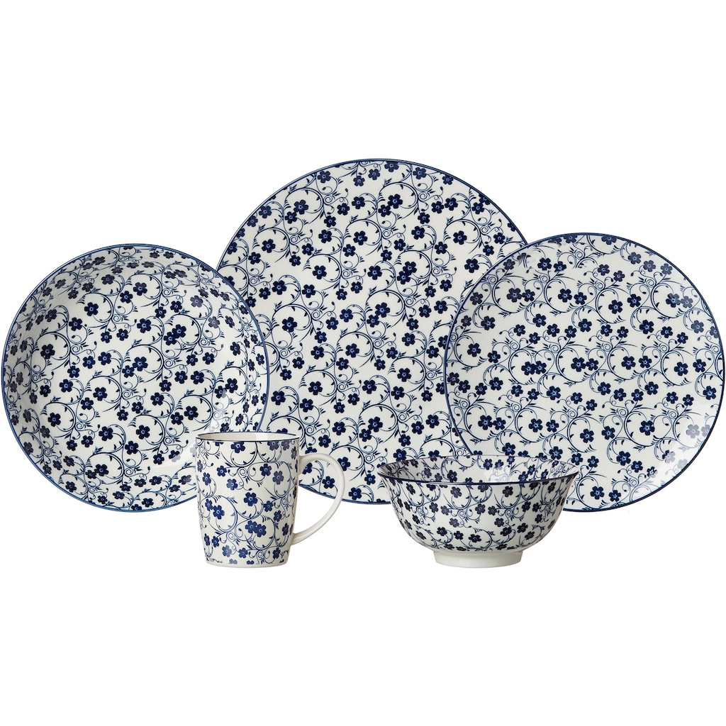 Ritzenhoff & Breker Dessertteller »ROYAL SAKURA«, (Set, 4 St.), Keramik