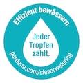 GARDENA Bewässerungssystem »Micro-Drip-System, 13013-20«, Start Set Pflanzreihen L, Tropfrohr oberirdisch