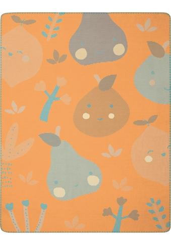 BIEDERLACK Babydecke »Little Fruits«, mit lustigen Früchten kaufen