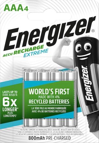 Energizer »Akku Recharge Extreme AAA 4x800 mAh« Batterie kaufen