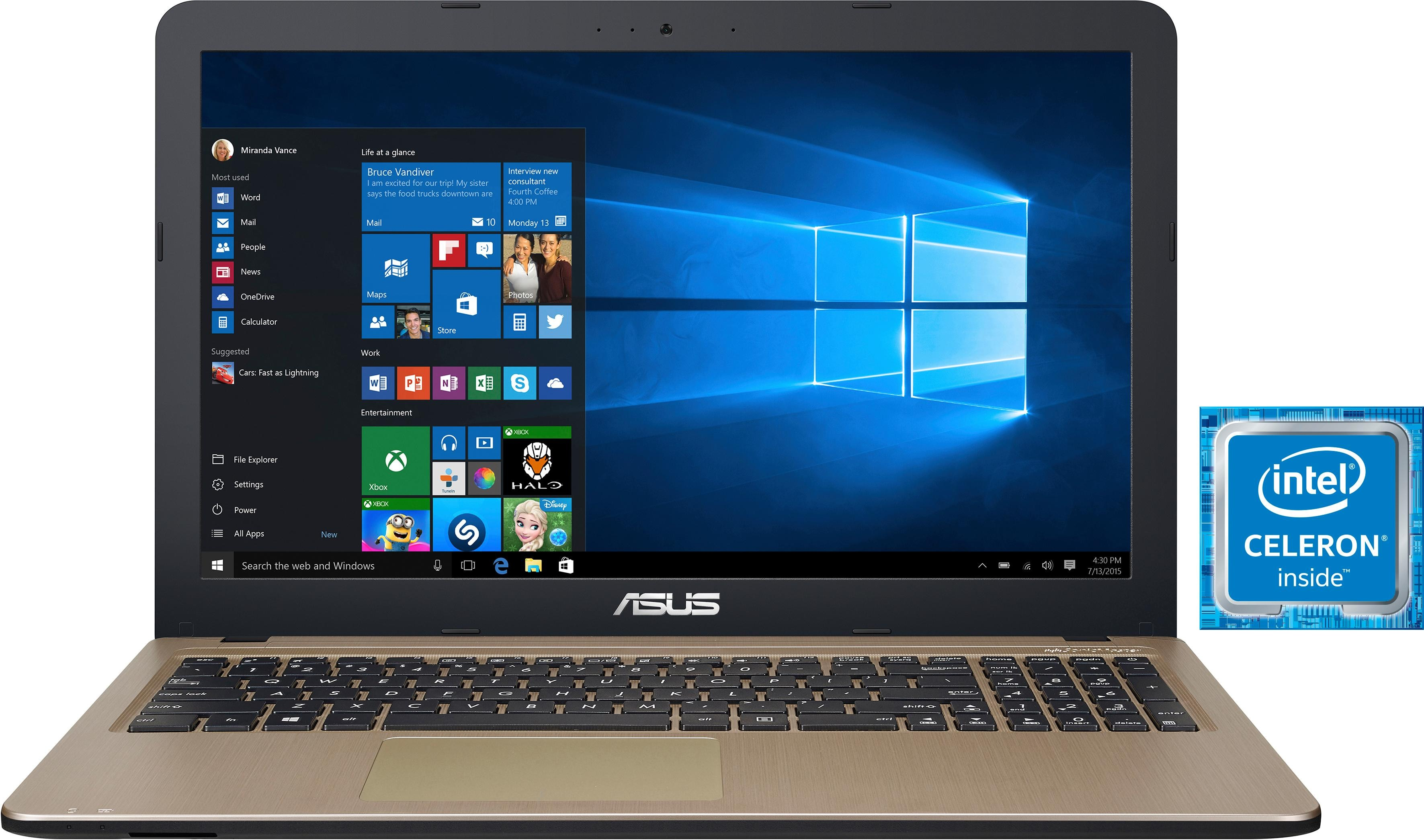 Asus F540MA-GQ055T Notebook (39,62 cm / 15, 6 Zoll, Intel, 1000 GB HDD)