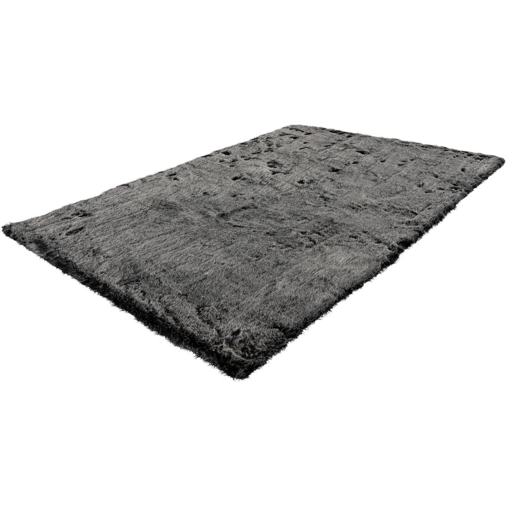 me gusta Hochflor-Teppich »Tender 125«, rechteckig, 52 mm Höhe, Kunstfell