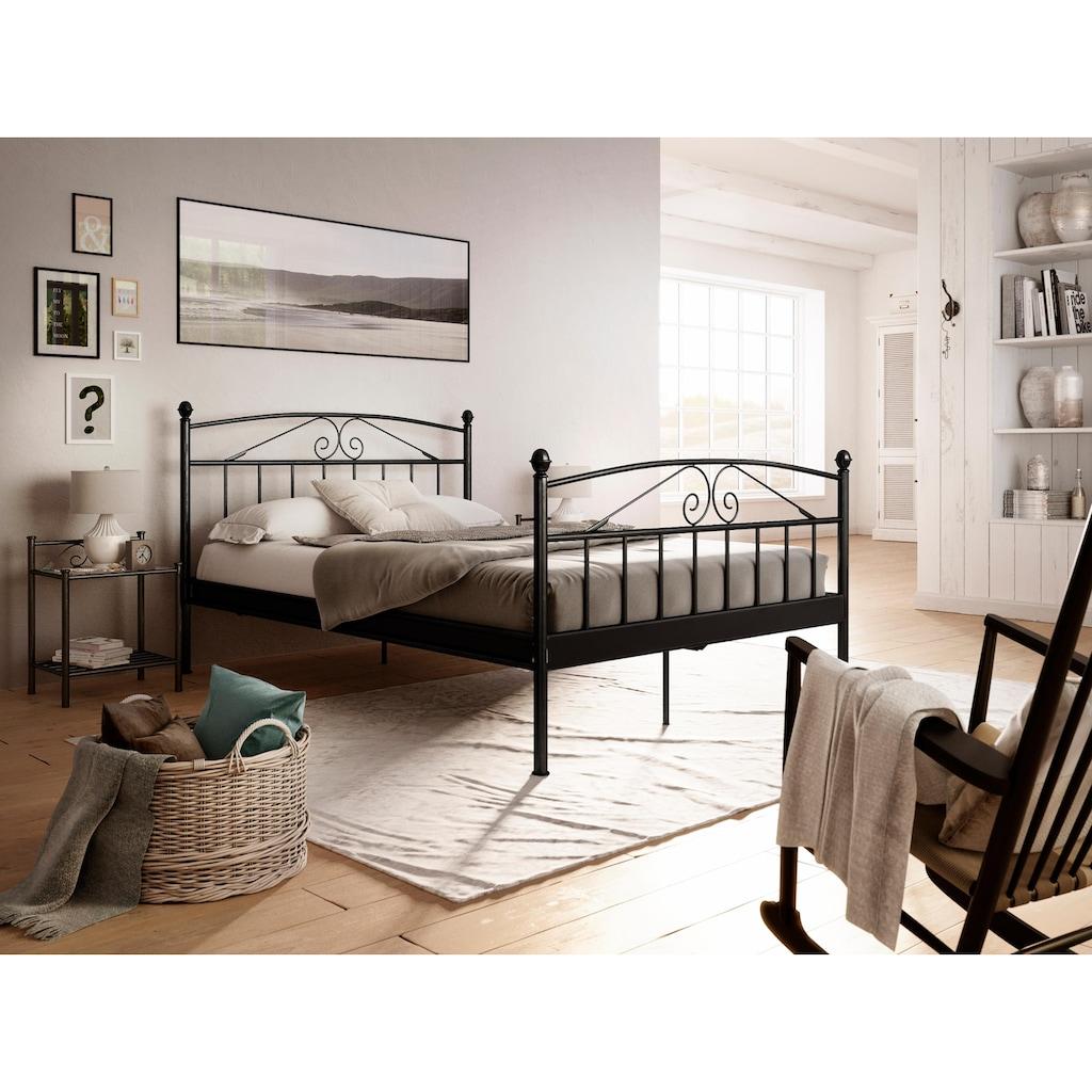 Home affaire Metallbett »Birgit«, aus einem schönem Metallgestell, in unterschiedlichen Farben und Größen