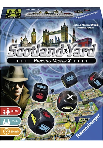 Ravensburger Spiel »Scotland Yard - Das Würfelspiel«, Made in Europe, FSC® - schützt Wald - weltweit kaufen